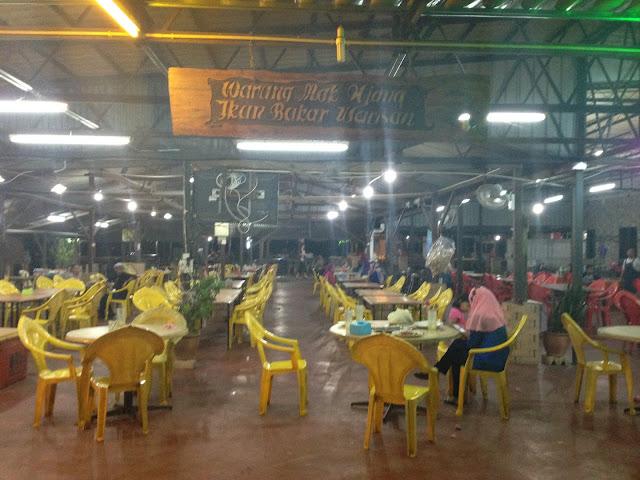 Warung Mak Njang Ikan Bakar Warisan Tanjung Dawai