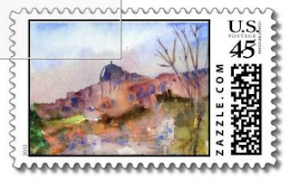 postage stamps, israel