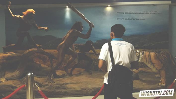 Belajar sejarah di Museum Manusia Purba Sangiran 2018
