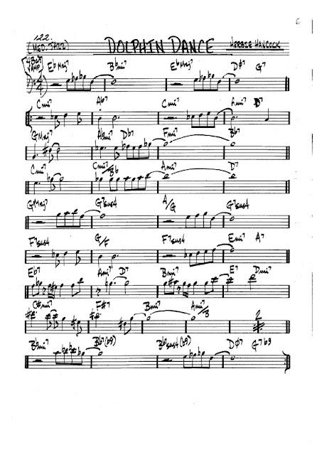 Partitura Trombón Herbie Hancock