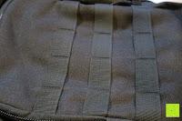 Schlaufen: Lalawow Sling Bag taktisch Rucksack Daypack Fahrradrucksack Umhängetasche Schultertasche Crossbody Bag