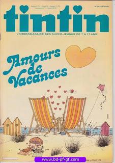 Tintin-numéro 34, année 38, 1983, Vernal et Ernst