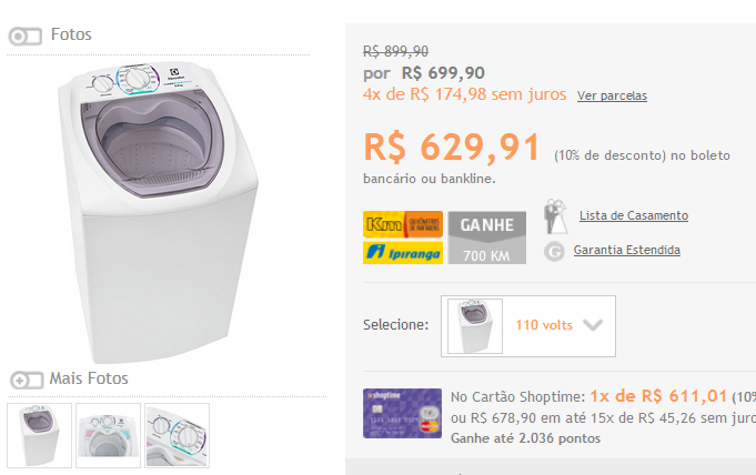 http://www.shoptime.com.br/produto/113999412/lavadora-de-roupas-electrolux-6kg-ltd06-turbo-economia-branco?opn=GOOGLEXML&franq=AFL-03-117316