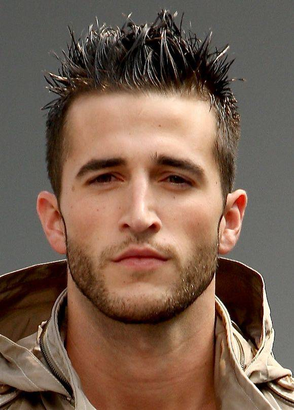 Spiky Dapper Hairstyle For Men With Short Hair.