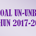 Soal Teori Kejuruan (STK) SMK Seni Rupa UN-UNBK 2018