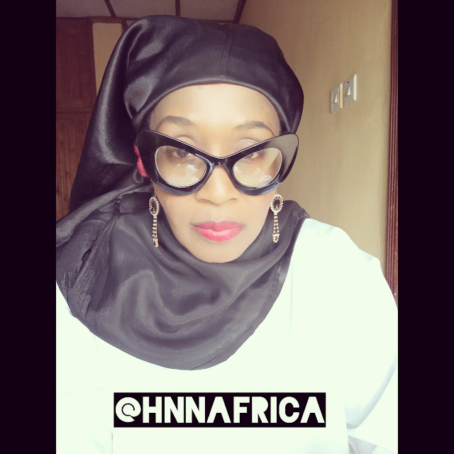 Kemi Olunloyo [@HNNAfrica] convert to Islam. Issued Official Media Statement