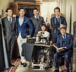 Sinopsis Drama The Gentlemen of Wolgyesu Tailor Shop