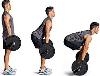 dead lift,workout for back