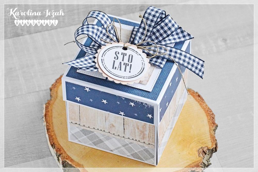 Poważnie karolina jeżak handmade: Pudełko urodzinowe dla Łukasza CO58
