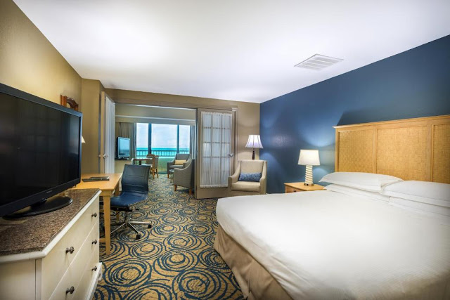 Hilton Daytona Beach Resort: quarto