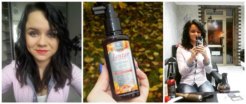 Moja przemiana z Jantar: nowa fryzura oraz recenzja odżywki do włosów + niespodzianka dla Was ;)