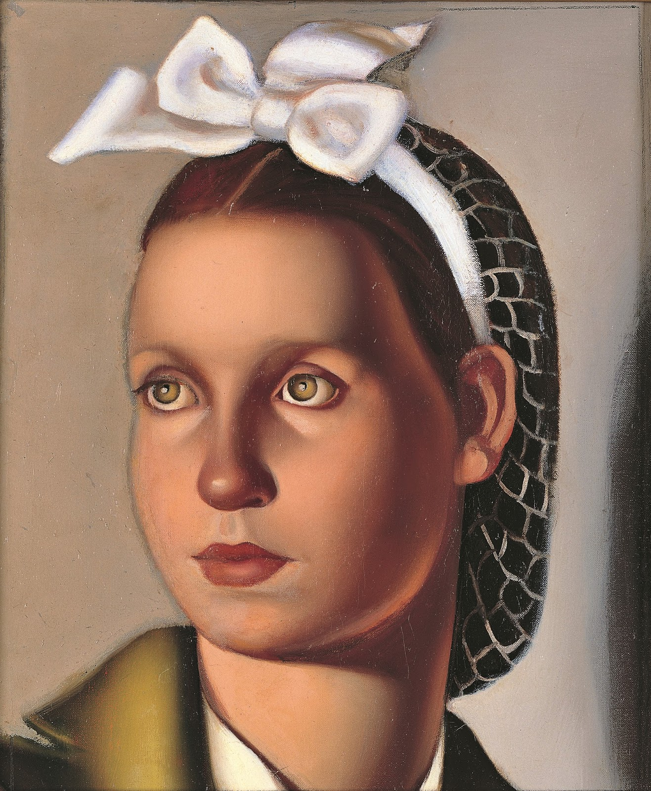 Tamara  De  Lempicka  Portrait  de  Louisianne  Kuffner