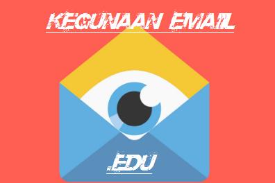 Pengertian dan Manfaat atau Kegunaan Email .Edu