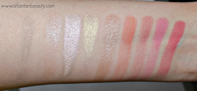 Makeup Revolution Blush Goddess Swatches