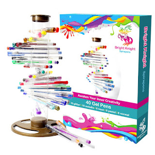 1 hour DEAL MULTICOLOR Gel Pens Set Bright Knight Spirapens 40 Pcs £12.73 Read more info Deals @DayUKDeals.com