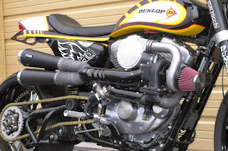 shavonna sportster turbo engine and exhausts