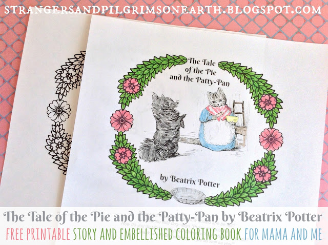 The Tale Of Pie And Patty Pan Coloring Story Book Free Printable