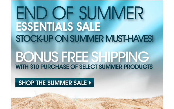 Avon Free Shipping September 2012|Avon End of Summer Sale