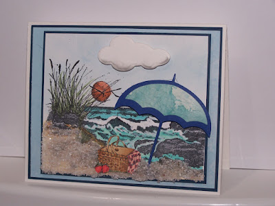Our Daily Bread Designs, The Mighty Sea, Thank You Sentiments, clouds and raindrops dies, designed by Jan Keen