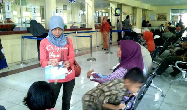 Pasien Kecewa Pelayanan RSUD Arifin Achmad