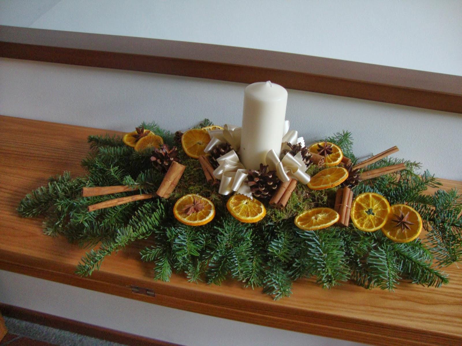 Un piccolo giardino in città: Una decorazione invernale fatta da me!