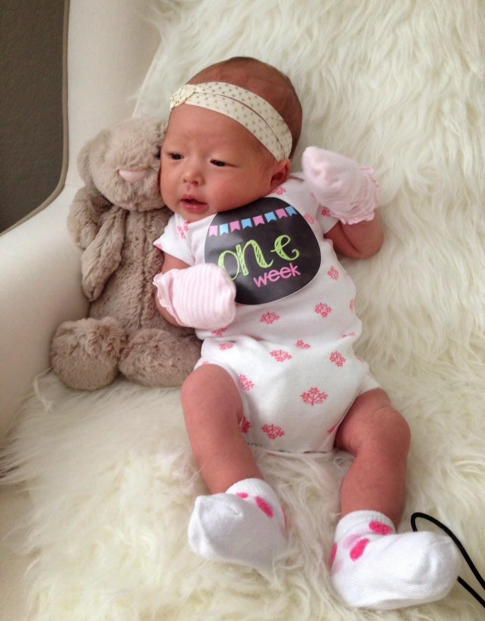 brynn is 1 week old the little gilland