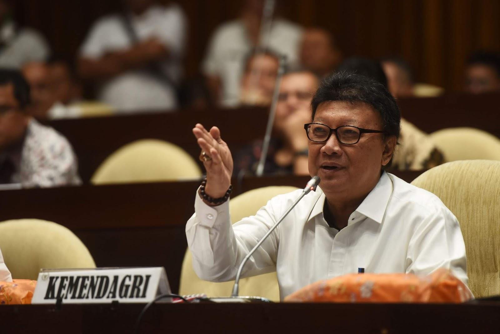 Mendagri Soal Kampanye, Kepala Daerah Dimaklumi, ASN Dilarang