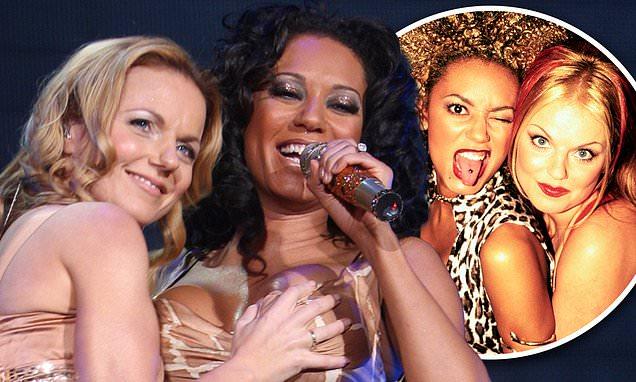 Geri Horner Mel B Spice Girls lesbian lovers. PYGear.com