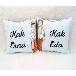 Jual Bantal Custom Couple Murah