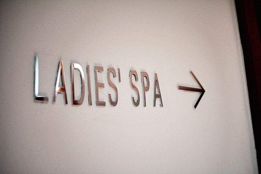 ladies spa