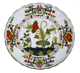 An example of faience majolica-ware