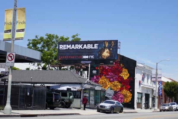 Fahrenheit 451 HBO Emmy FYC billboard