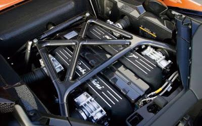 Murcielago Models: Engine