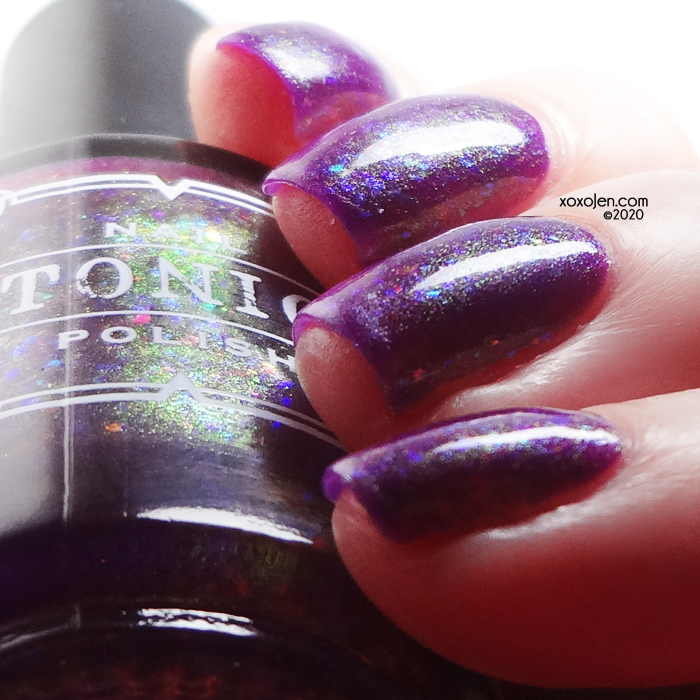 xoxoJen's swatch of Tonic My Magic Wine