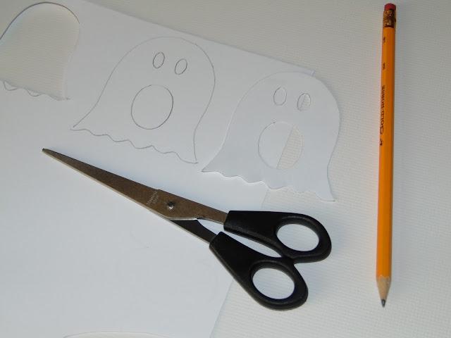 jak zrobić Halloweenowe okulary z papieru