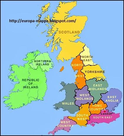 Cartina Geografica Dell Inghilterra Politica.Europa Mappa Regione Citta Mappa Di Uk Politico