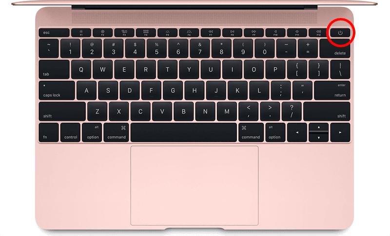 force reboot macbook pro