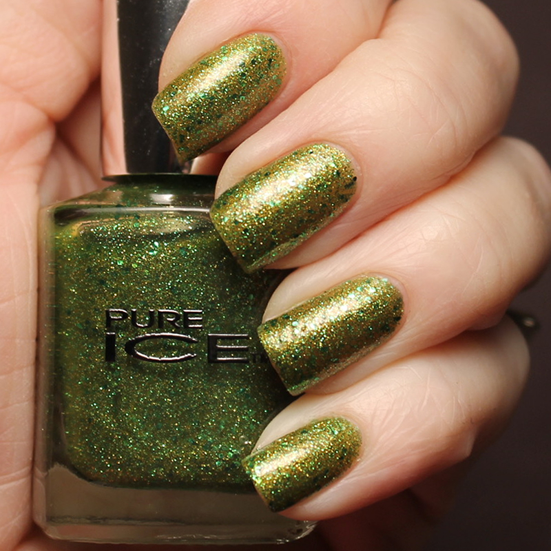 Pure Ice Emerald Crush Swatch