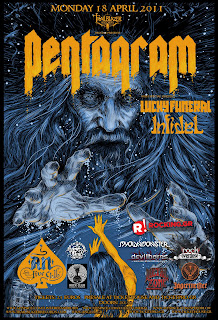 Pentagram, Infidel, Lucky Funeral @Athens,18/04/11