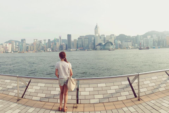tourist, hong kong, tsim shui tsui, kowloon