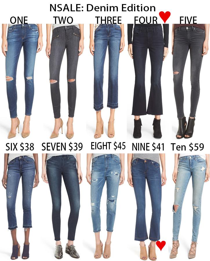 Nordstrom anniversary sale, NSALE, Nordstrom sale, jeans sale, designer jeans sale