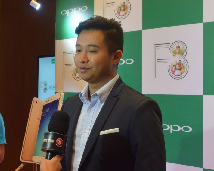 OPPO Philippines Brand Marketing Manager Stephen Cheng