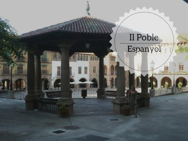 Il Poble Espanyol: tutta la Spagna a Barcellona. Plaza mayor