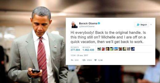 El primer tuit de Obama obtiene miles de seguidores