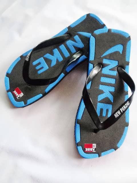 Sandal Murah Jepit Ferzic biru nike