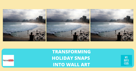 Transform Holiday Photos into Wall Art + Giveaway (AD)