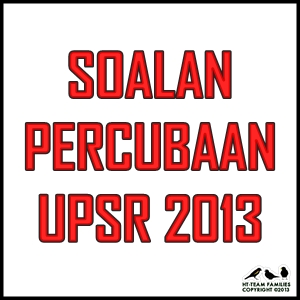 Soalan Sains Percubaan UPSR 2013 Perak