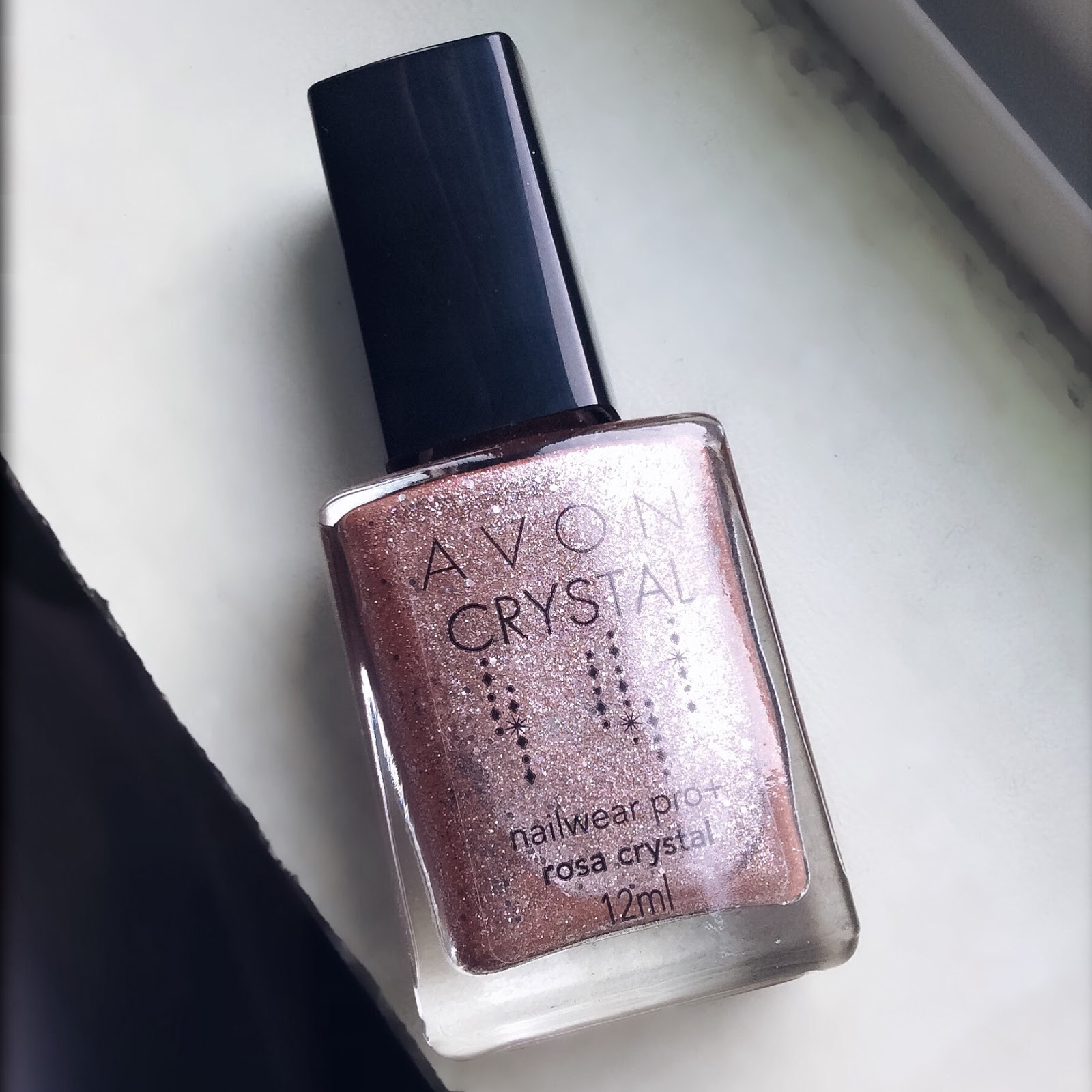 Esmalte da Semana: Avon Rosa Crystal