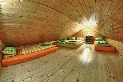 Ubytování na půdě na Boudě pod Sněžkou